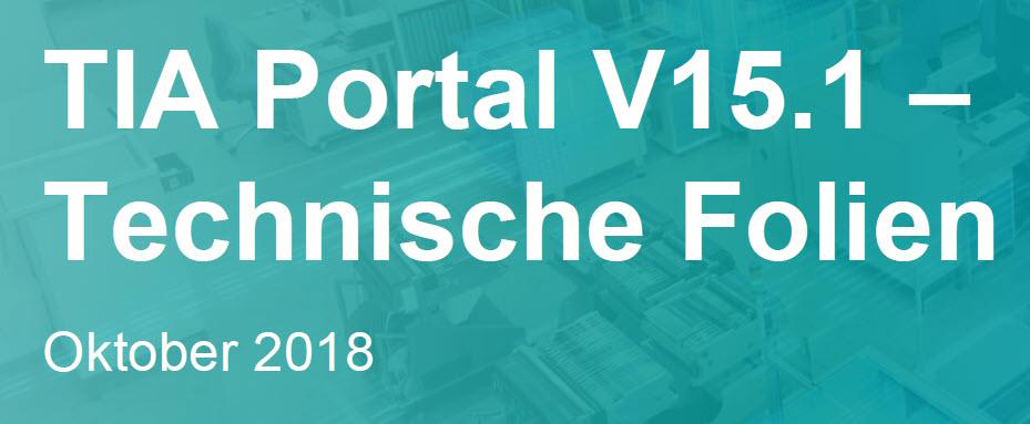 Lieferfreigabe TIA-Portal V15 1 - spshaus